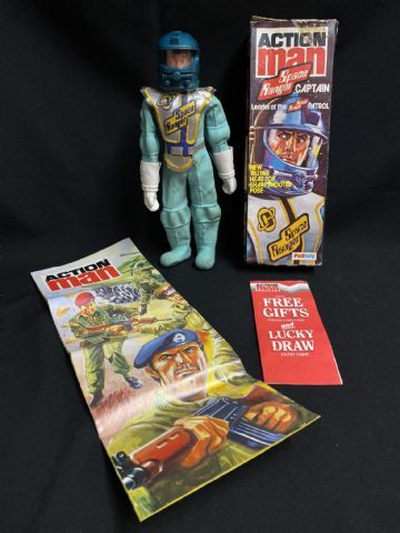 ACTION MAN - SPACE RANGER CAPTAIN - BOXED